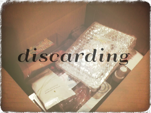 discarding